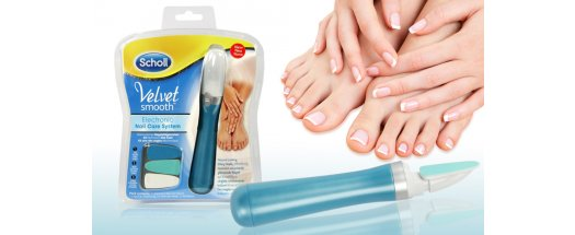 Система за нокти Scholl Velvet Smooth Nail Care System снимка #0