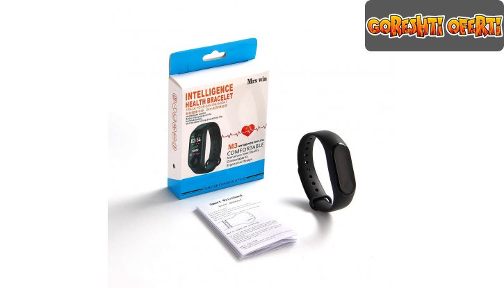 Смарт гривна M3 Intelligence Health Bracelet снимка #5