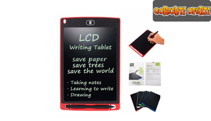 Таблет за записки и рисуване LCD Writing Tablet снимка #2