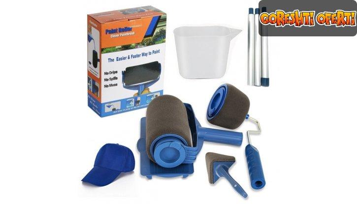 Комплект безкапкови валяци за боядисване Paint Roller снимка #0
