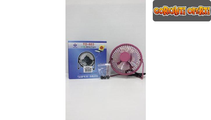 USB Мини вентилатор TD-603 снимка #1