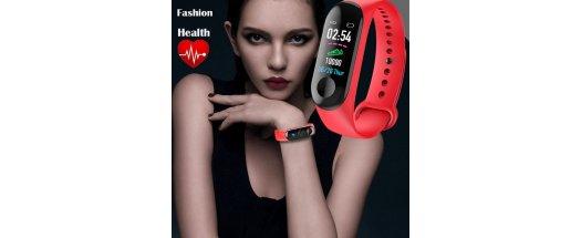 Смарт гривна M3 Intelligence Health Bracelet снимка #1