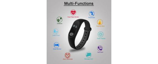 Смарт гривна M2 Intelligence Health Bracelet снимка #2
