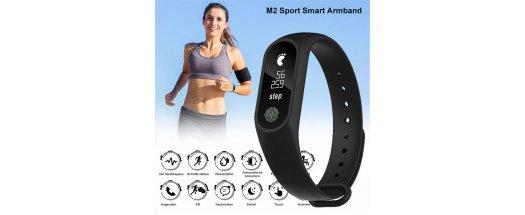 Смарт гривна M2 Intelligence Health Bracelet снимка #1