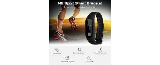 Смарт гривна M2 Intelligence Health Bracelet снимка #0