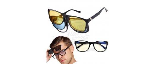 Магнитни очила 3 в 1 Magic Vision снимка #2