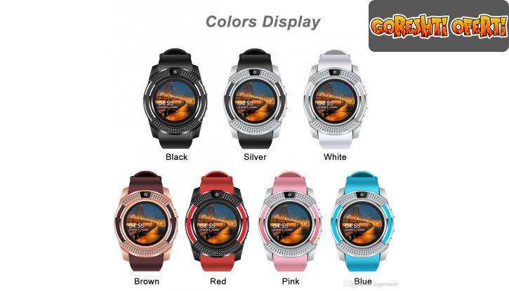 Смарт часовник Smart watch V8 снимка #3