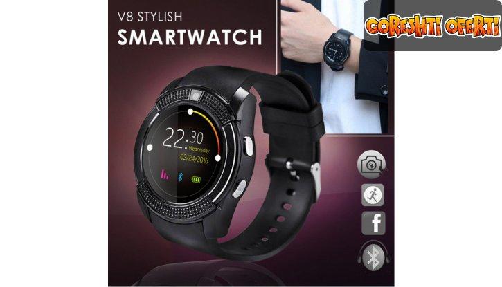 Смарт часовник Smart watch V8 снимка #0