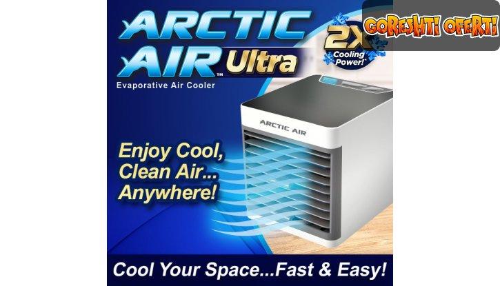 Портативен охладител, овлажнител и пречиствател за въздух ARCTIC AIR ULTRA 3в1 снимка #2