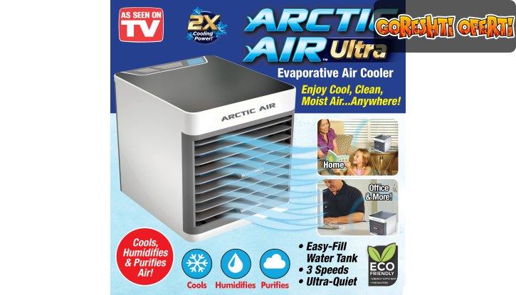 Портативен охладител, овлажнител и пречиствател за въздух ARCTIC AIR ULTRA 3в1 снимка #0