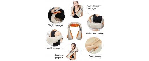 Масажор за врат, рамене и гръб  снимка #1
