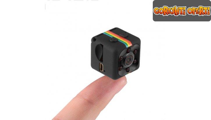 Мини камера със сензор за движение 12MP Mini Full HD Camera снимка #2