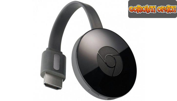 Google Chromecast HDMI Streaming Media Player снимка #1