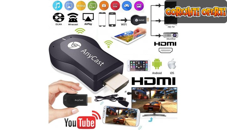 AirPlay Box Streaming Media Player снимка #0
