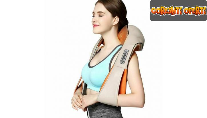 Масажор за врат, рамене и гръб  снимка #6