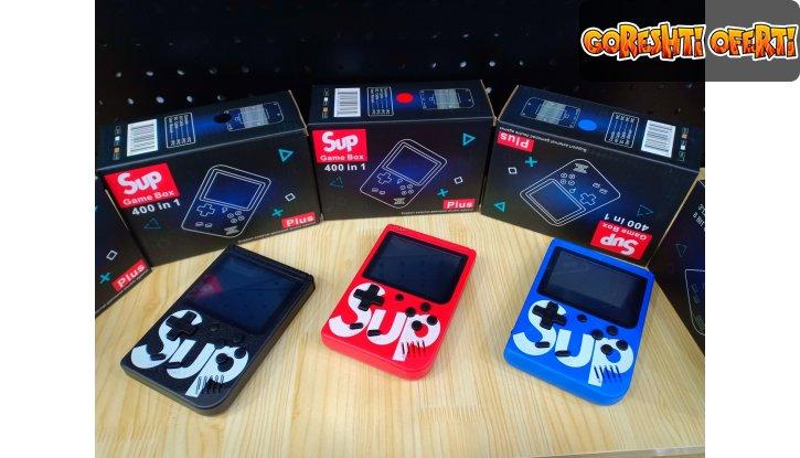 SUP GAME BOX Преносима конзола с 400 игри + ПОДАРЪК слушалки BEATS снимка #0
