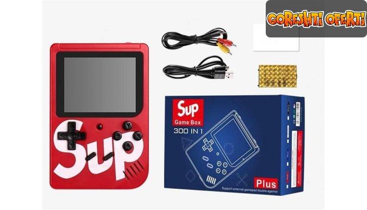 SUP GAME BOX Преносима конзола с джойстик и 400 игри + ПОДАРЪК слушалки BEATS снимка #3