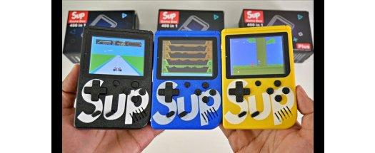 SUP GAME BOX Преносима конзола с джойстик и 400 игри + ПОДАРЪК слушалки BEATS снимка #2