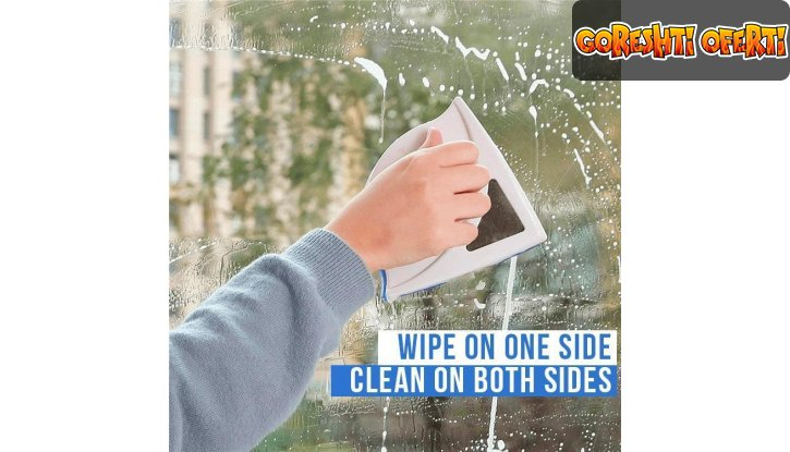 Магнитен смарт уред за прозорци до 30мм с ПОДАРЪК още една четка за 12мм снимка #1