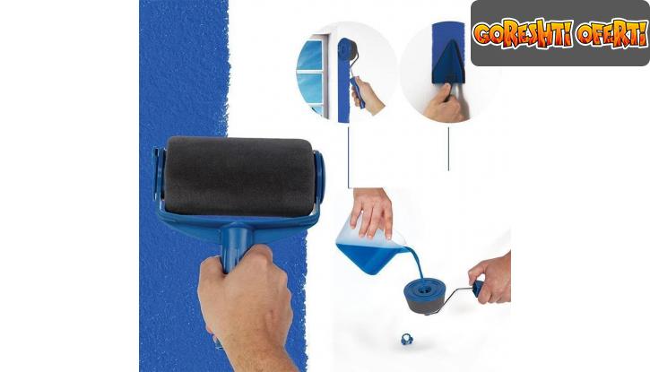 Комплект безкапкови валяци за боядисване Paint Roller снимка #1
